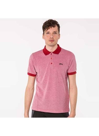 Slazenger Slazenger SEVERO Erkek T-Shirt  Kırmızı
